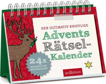 Der ultimativ knifflige Rätsel Adventskalender 2021