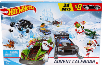 Hot Wheels GJK02 Adventskalender 2020