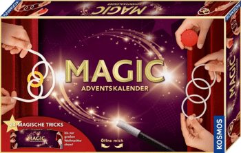 Kosmos 698010 Magic Adventskalender Spielzeug 2020