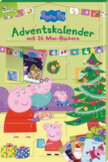 Peppa Pig Adventskalender: mit 24 Mini-Büchern 2020
