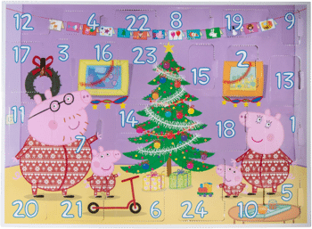 Peppa Pig PEP0798 Adventskalender 2020