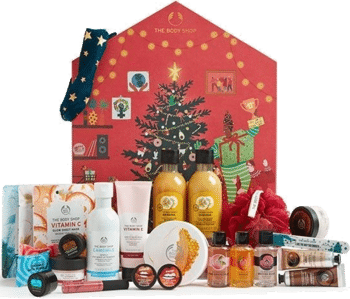 The Body Shop Make It Real Together BIG Adventskalender 2020 Inhalt