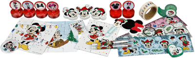 Undercover MINE8024 Minnie Mouse Adventskalender Inhalt