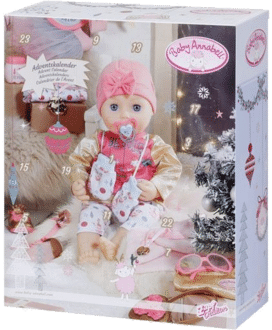 Zapf Creation 703366  Baby Annabell Adventskalender 2020