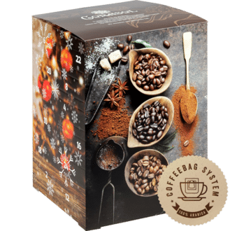 Corasol Flavoured Coffee XL Filterkaffe Adventskalender 2020