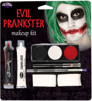 Halloween Bad Joker Make Up Set