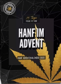 HanfMed Hanf Adventskalender Gold Edition 2020