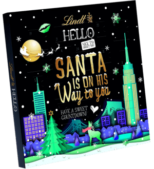 Lindt HELLO Santa is on his Way to you Adventskalender 2020
