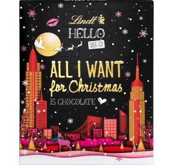 Lindt Hello All I Want for Christmas Adventskalender