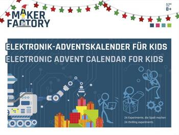 MAKERFACTORY Elektronik-Adventskalender für Kids 2020