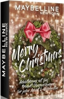 Maybelline Adventskranz Mini Adventskalender 2021