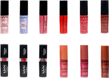 NYX 12 Day Lipstick Adventskalender 2021 Inhalt