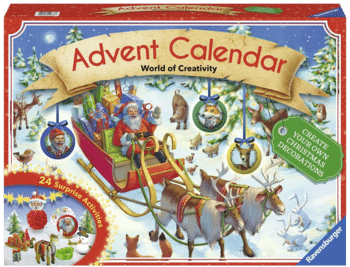 Ravensburger 11673 World of Creativity - DIY Adventskalender 2017