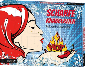 Roth 86012 Mrs. Hot Scharfe Knabbereien Adventskalender 2020