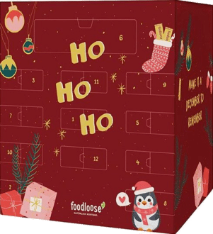 foodloose Adventskalender bio vegan 2020