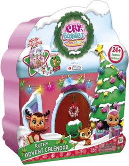 IMC Toys 91948IM - Cry Babies Magic Tears Ruthy's Adventskalender 2020