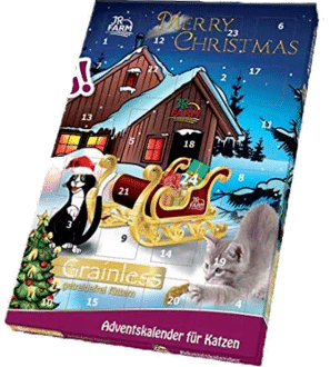 JR Farm Adventskalender Katze 2021