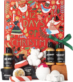Lush 12 Days of Christmas Adventskalender 2020