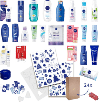 NIVEA DIY Adventskalender für Damen 2021
