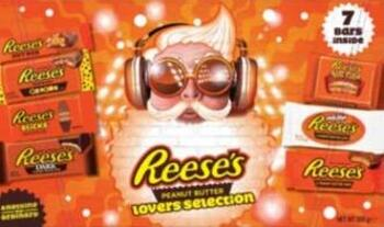 Reese's Chocolate Lovers Selection Box 285g 2020  Weihnachtsschokolade
