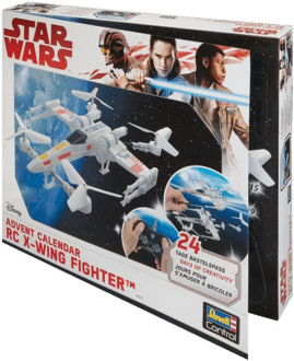 Revell Control 01013 - RC Adventskalender Star Wars X-Wing Fighter