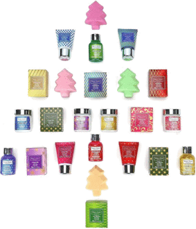 Winter in Venice Bath & Body Spa Adventskalender Inhalt