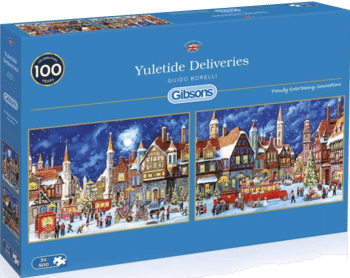 Gibsons G5053 Yuletide Deliveries Puzzle 2x500 Teile