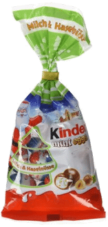 Kinder Mini Eggs Haselnuss, 6er Pack (6 x 100 g)