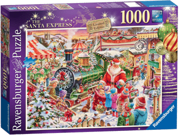 Ravensburger 19345 Limited Edition The Santa Express Puzzle (1000 Teile)