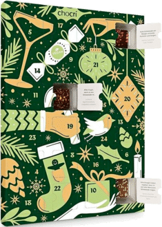 chocri Veganer Adventskalender