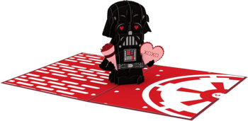 Lovepop Star Wars Darth Vader Pop Up Valentinskarte