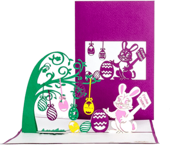 Cologne Cards 3D Pop Up Karte Frohe Ostern