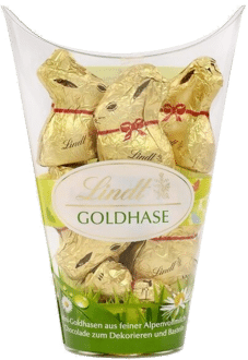 Lindt Mini-GOLDHASE im Becher