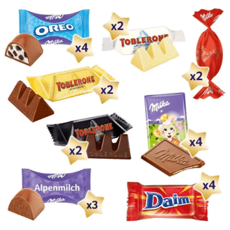 Milka & Friends Osternest, 196 g Inhalt