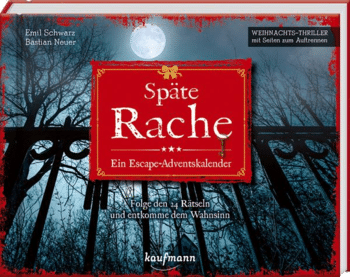 Escape Room Adventskalender 2021 - Späte Rache